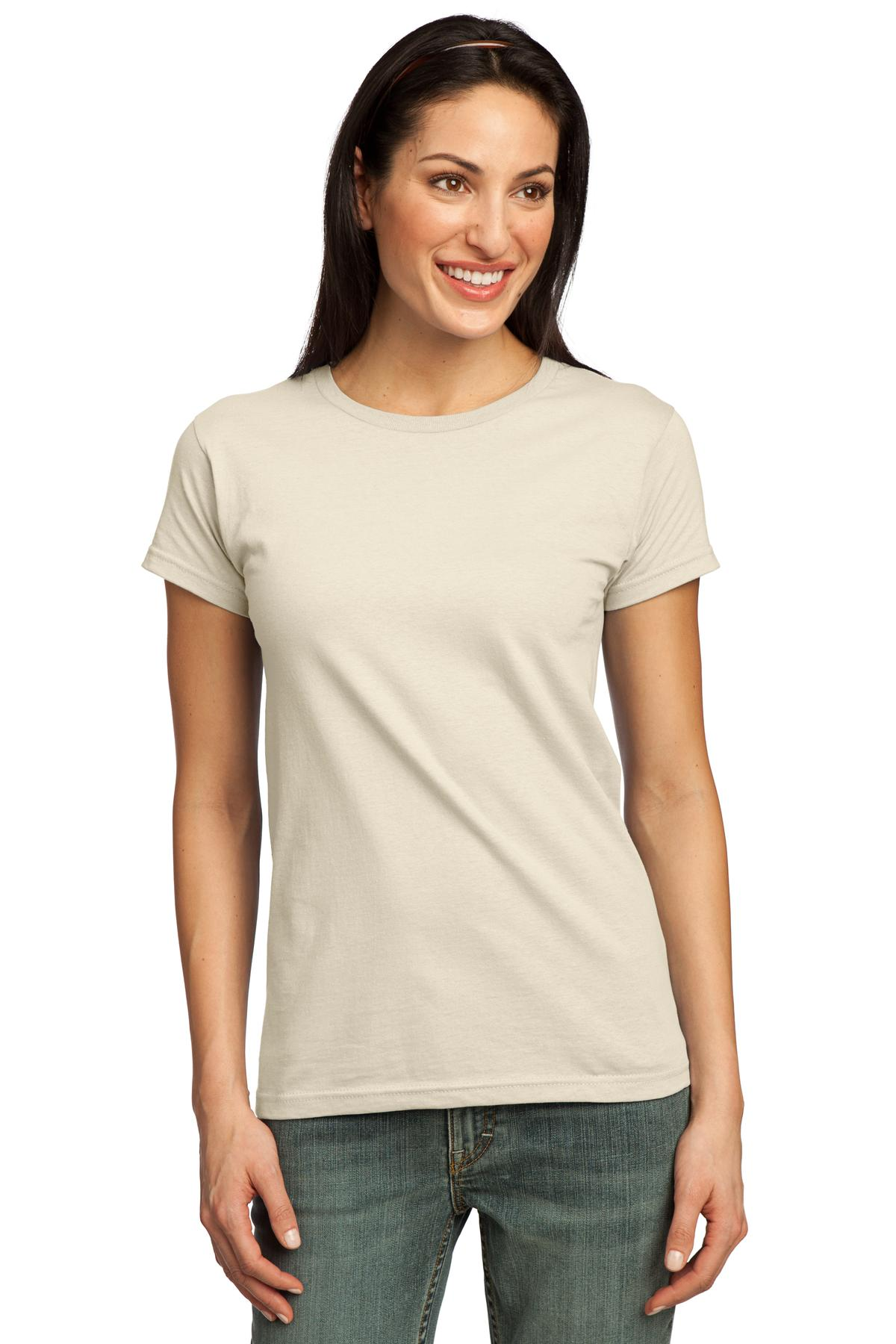 Closeout Port Company Ladies Organic Cotton T Shirt
